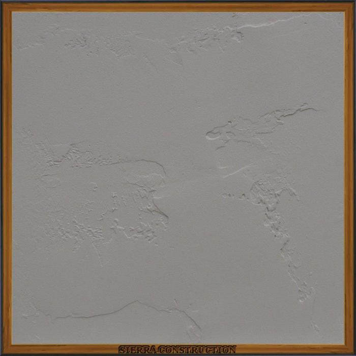 Faux Painting sample showing a 2x2 piece of drywall after its been textured, primed and painted, if your texture is like an orange peel or knock down right now, is recomended that you  change it to a hand texture to be able to really apreciate this kind of faux paint.